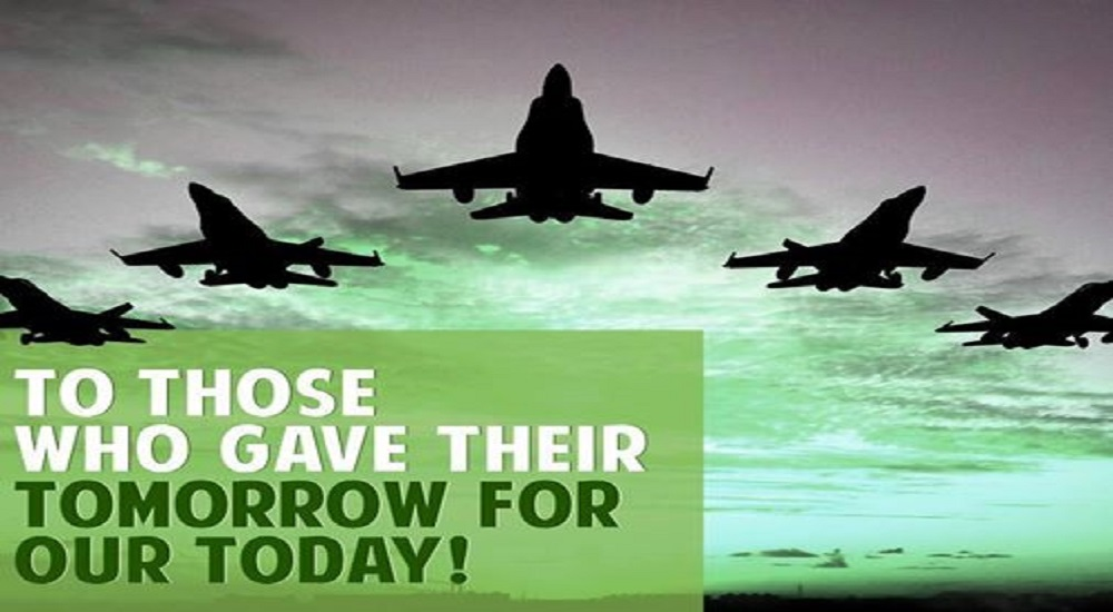 We wish Defence Day to all the Military Forces fighting for the Country