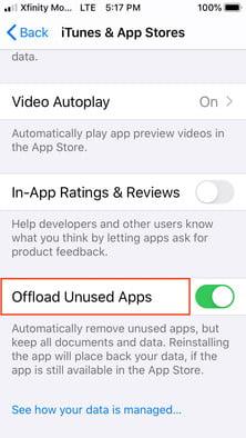 offload app