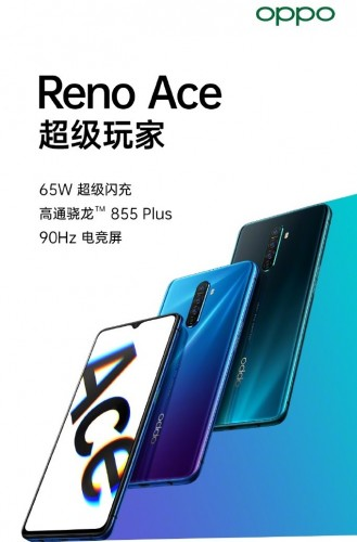OPPO Reno Ace Design