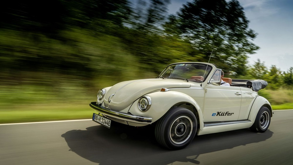 Volkswagen Commissioned These Adorable Electric Vintage Beetles Dubbed E-Kafers