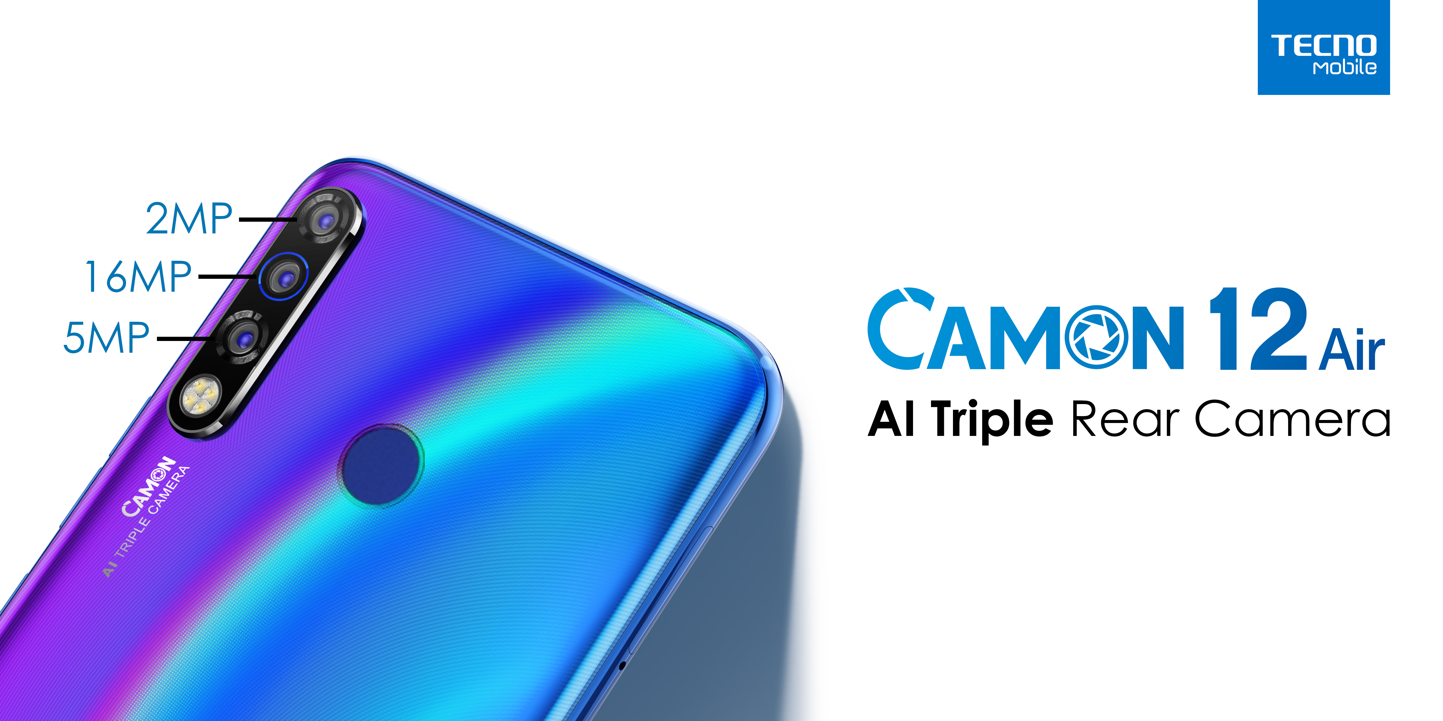 camon 12 air triple cameras