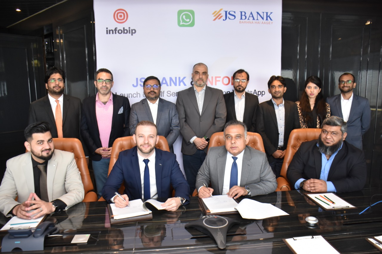 JS Bank Becomes First Bank in Pakistan to Launch Self-Service Banking on WhatsApp