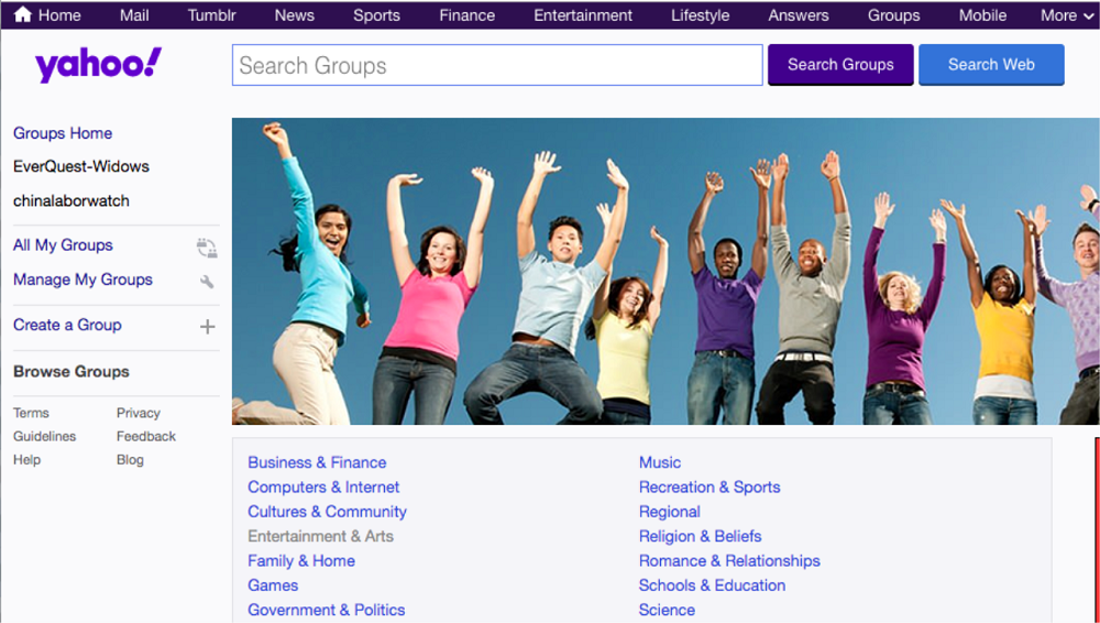 Yahoo is shutting Down its Groups & All Content will be Removed