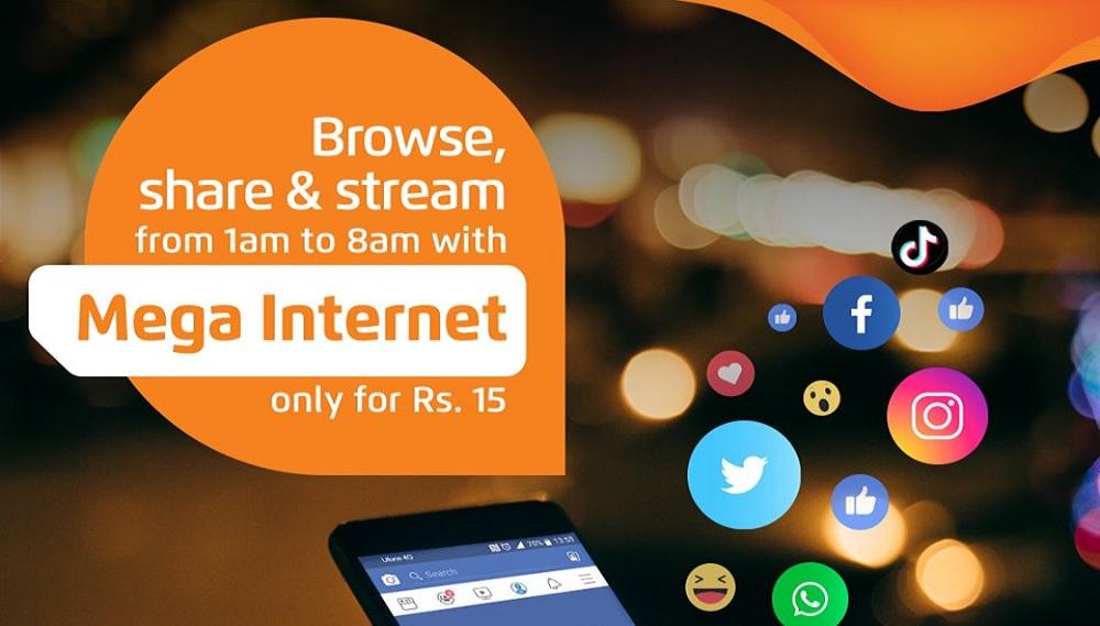 Enjoy Ufone Mega Internet Offer for Rs. 15