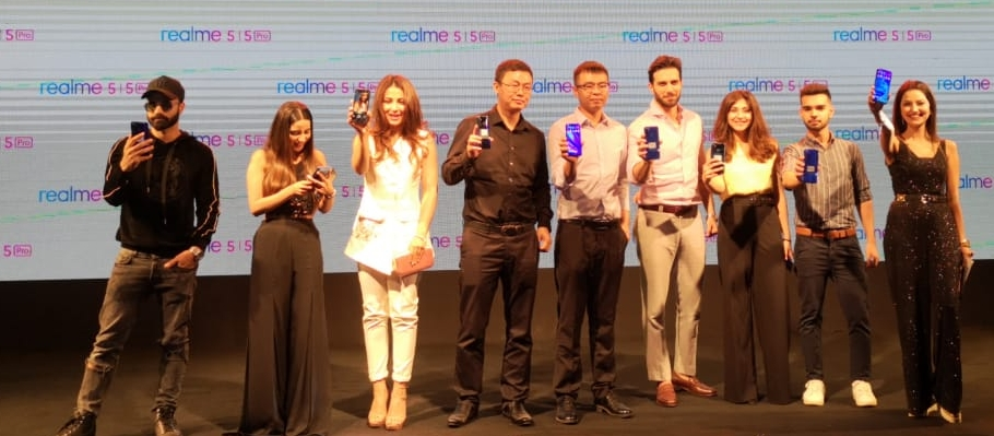 Realme Introduces its First Quad Camera Smartphones Realme 5 series in Pakistan