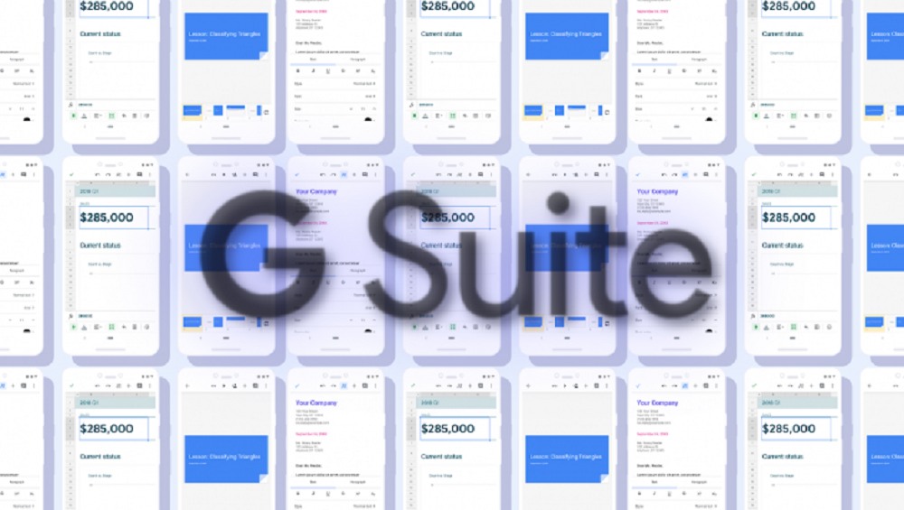 Google Docs, Sheets & Slides Get New Look