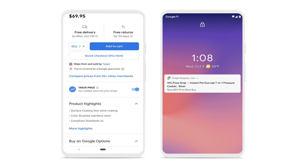 Google shopping is now live with its new look