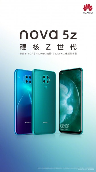 Huawei Nova 5z Official Image