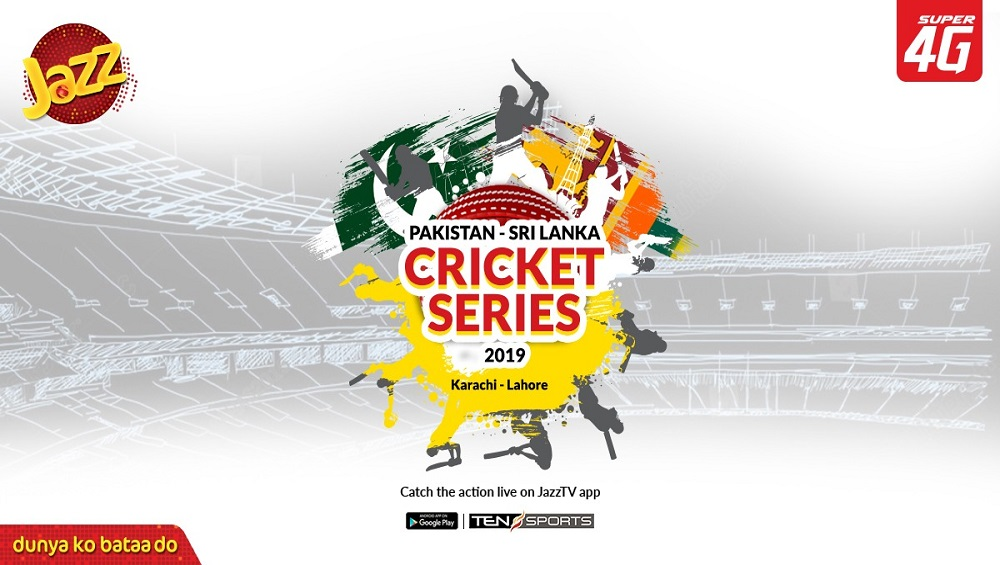 Jazz TV Streaming Pak-Sri Lanka Series for Cricket Fanatics