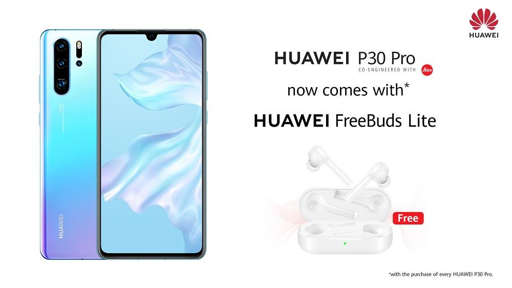 HUAWEI P30 Pro freebuds