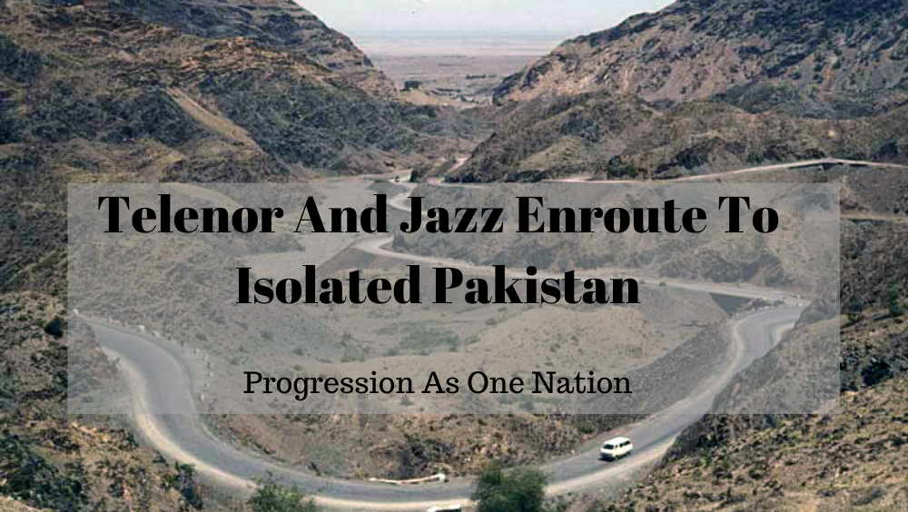 Telenor And Jazz Enroute To Isolated Pakistan