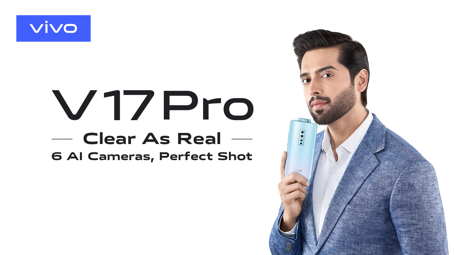 Vivo V17 Pro Launches in Pakistan-First 32MP Dual Pop-Up Camera