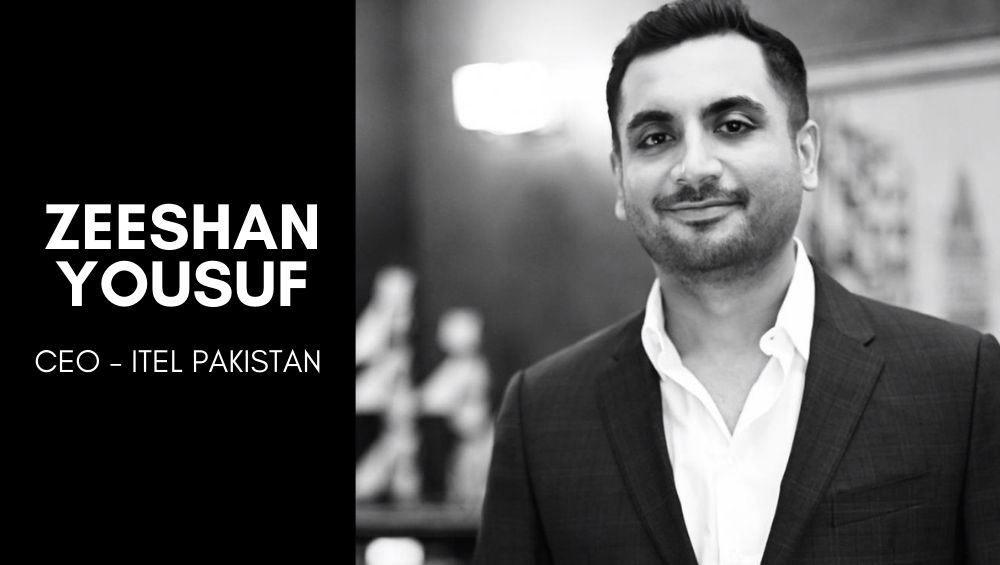 ITel Pakistan Appoints Zeeshan Yousaf as the CEO to Lead the Business Further