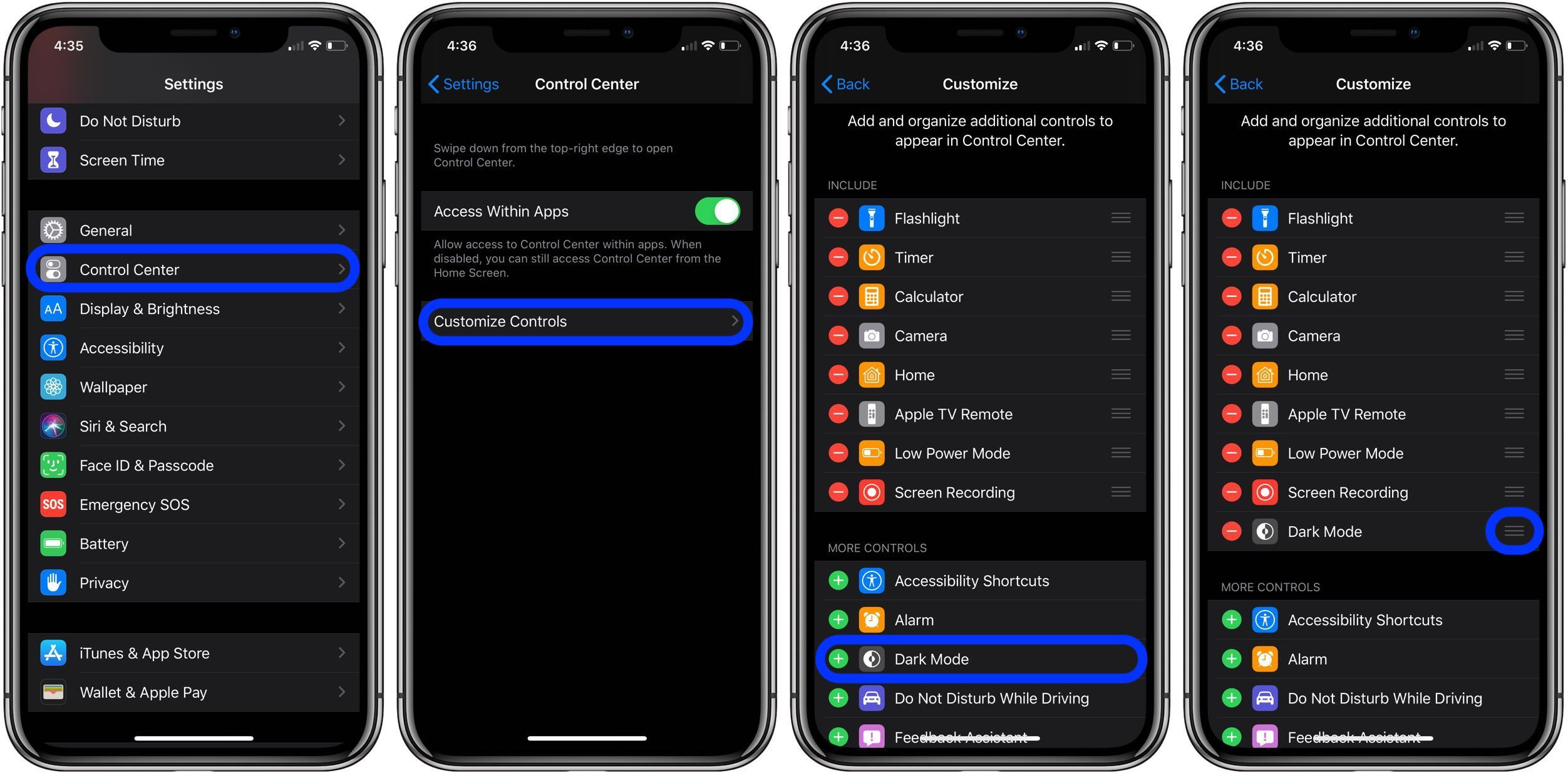 How to Change Your iPhone from Light to Dark Theme Automatically