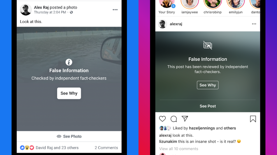 Instagram False Information Labels will Prevent Fake News from Going Viral