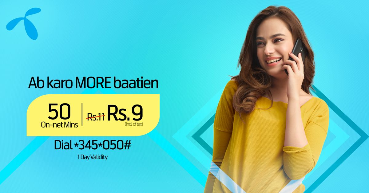 Ab Karo MORE Batian with Telenor Call Package