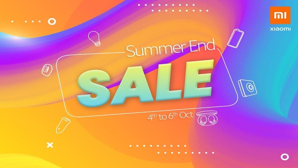 Xiaomi Summer End Sale