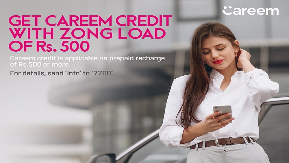 Zong Careem Offer