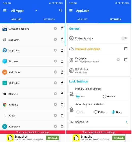 15 Best App Lockers For Android To Use In 2020 Fingerprint App Lock Phoneworld