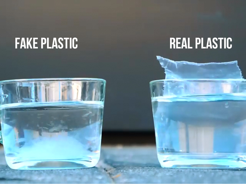 The Plastic That Dissolves In Water!