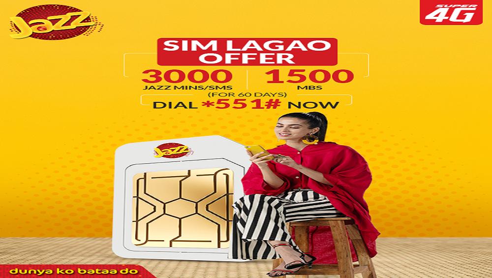 Now Enjoy Jazz SIM Lagao Offer!