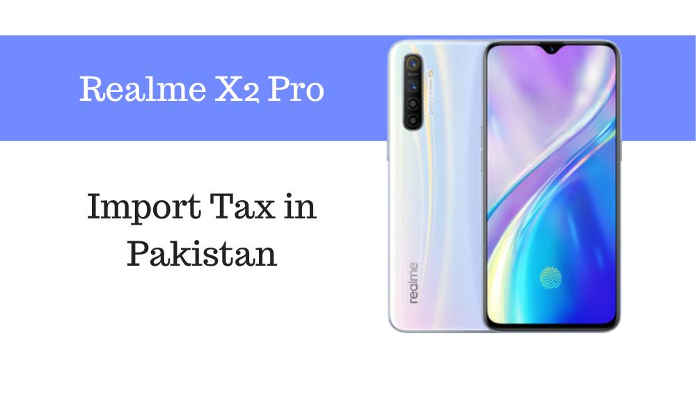 Realme X2 Pro tax