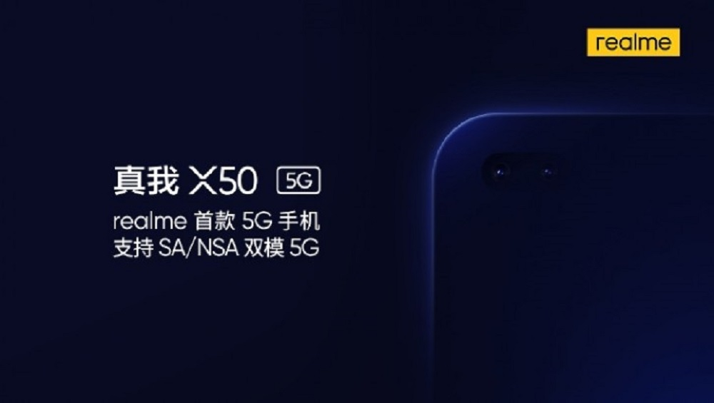 Realme X50 5G to Come with Two Selfie Cameras