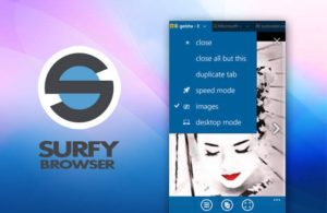 Surfy-Browser