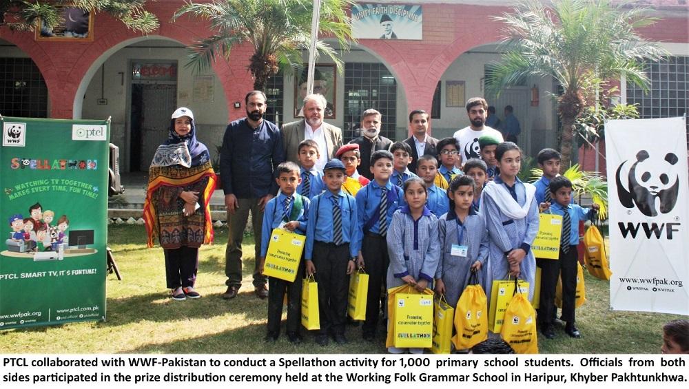 PTCL WWF-Pakistan Spellathon