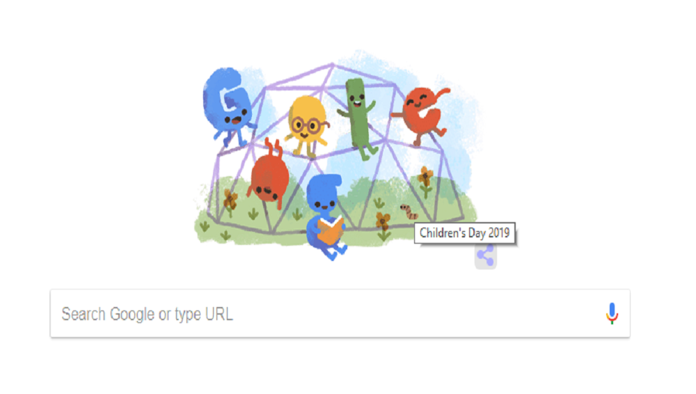Google Celebrates Children's Day 2019 with A Cute Doodle