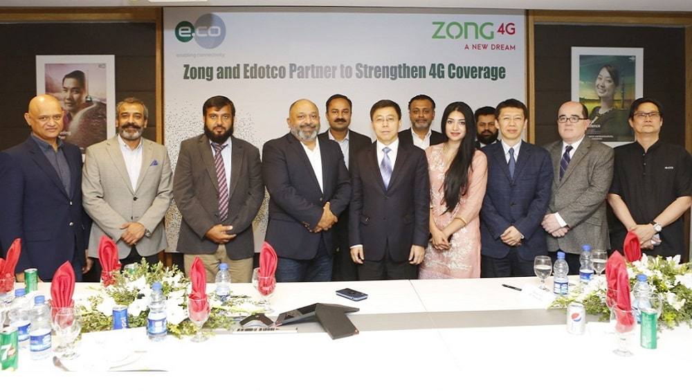 Edotco and Zong 4G Partner