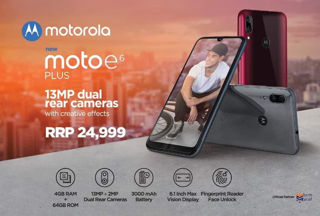 Motorola is Proud TO Announce Moto E6 Plus & Moto One Macro in Pakistan