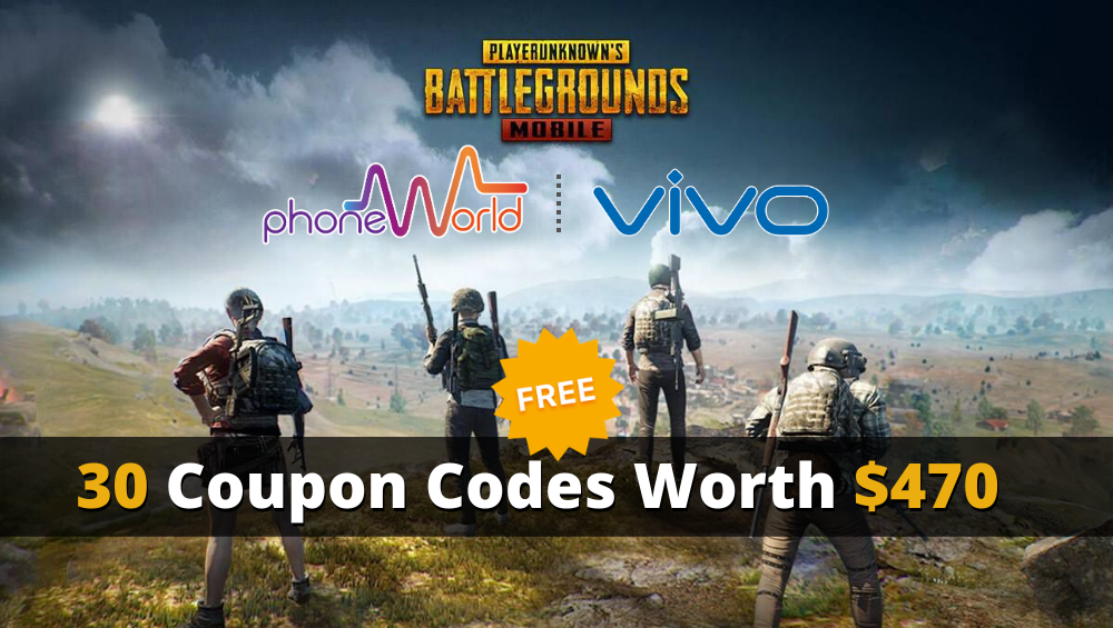 pubg mobile giveaway