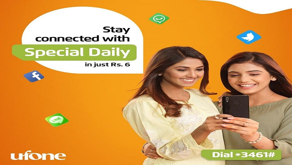 Stay Connected with Ufone Special Daily Offer