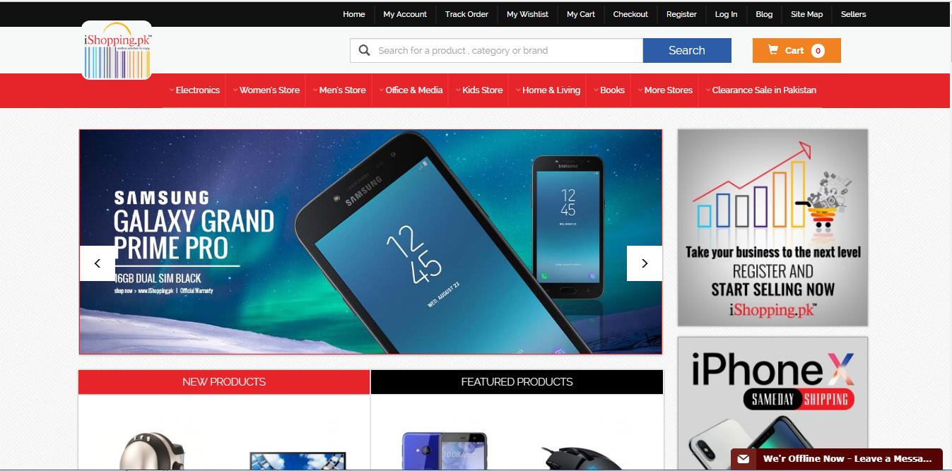 ishopping website