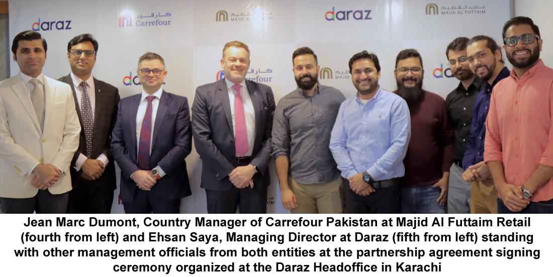 Carrefour Pakistan signs partnership agreement with Daraz