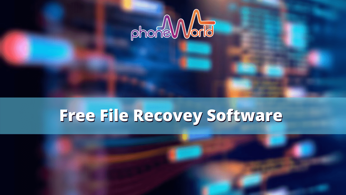 Free File Recovey Software for windows-min