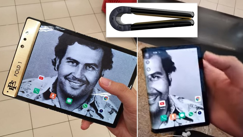 Pablo Escobar's Brother Launches Gold Foldable Smartphone in $349 (PKR. 54000)