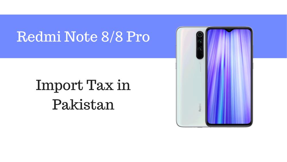 Redmi Note 8 Pro Tax