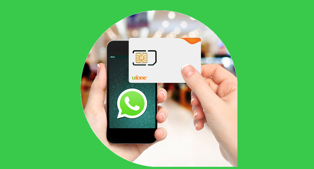 Now Enjoy Free WhatsApp for 90 Days with Ufone New SIM Offer