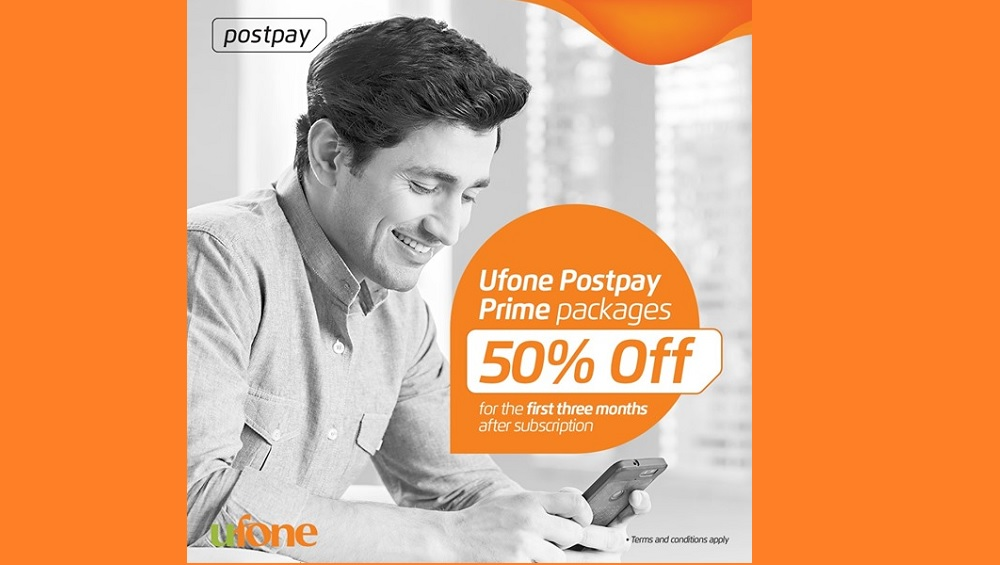 Ufone Postpay Prime Packages