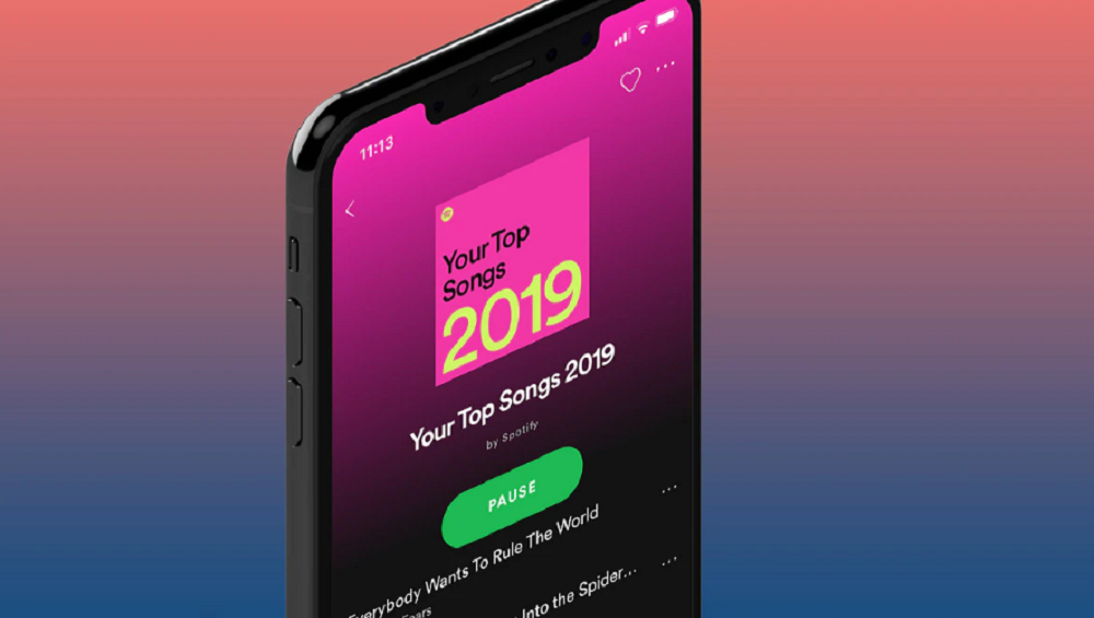 Have a look at your most-streamed songs with Spotify Wrapped 2019