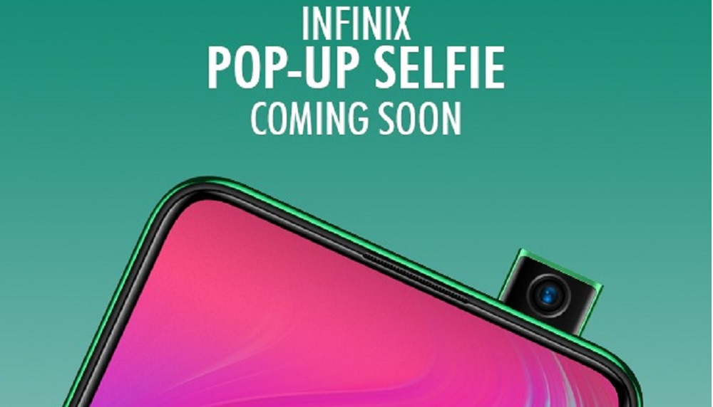 New Infinix Pop-up Selfie Camera Phone Coming Soon