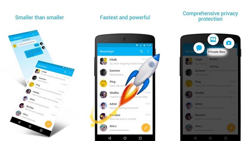 Zero Sms app and private box