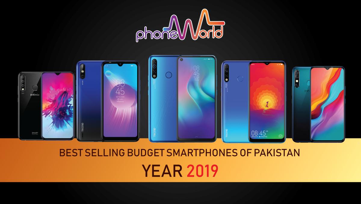 best selling budget smartphones-pakistan