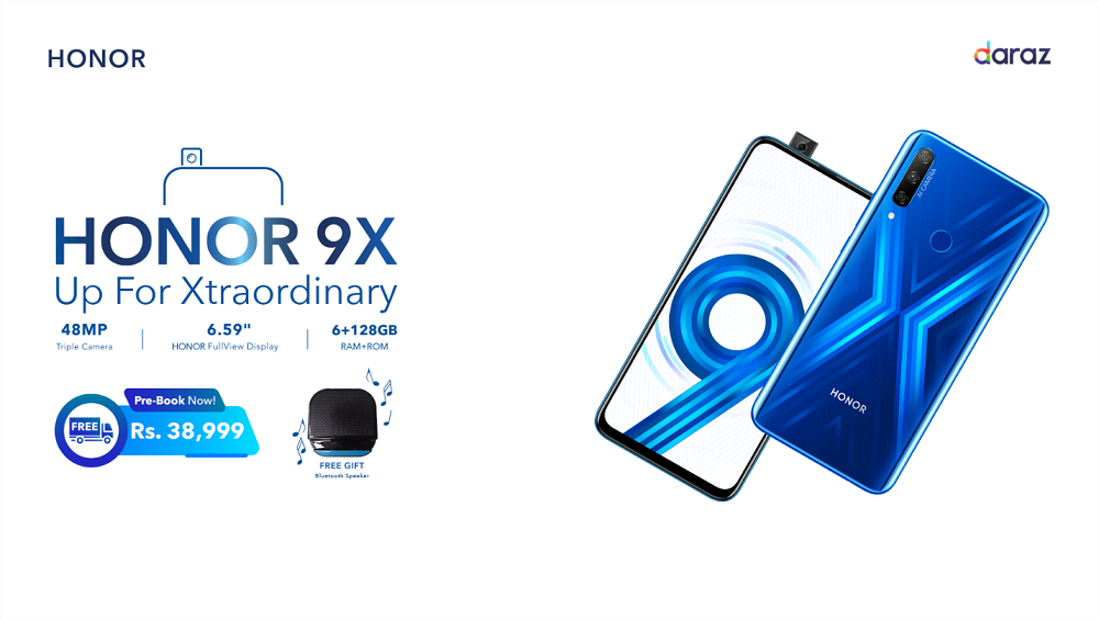 Honor 9X Pre-booking