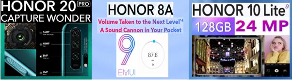 honor specs