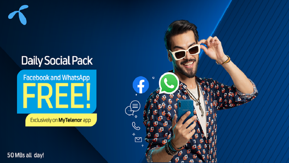 Telenor Daily Social Pack