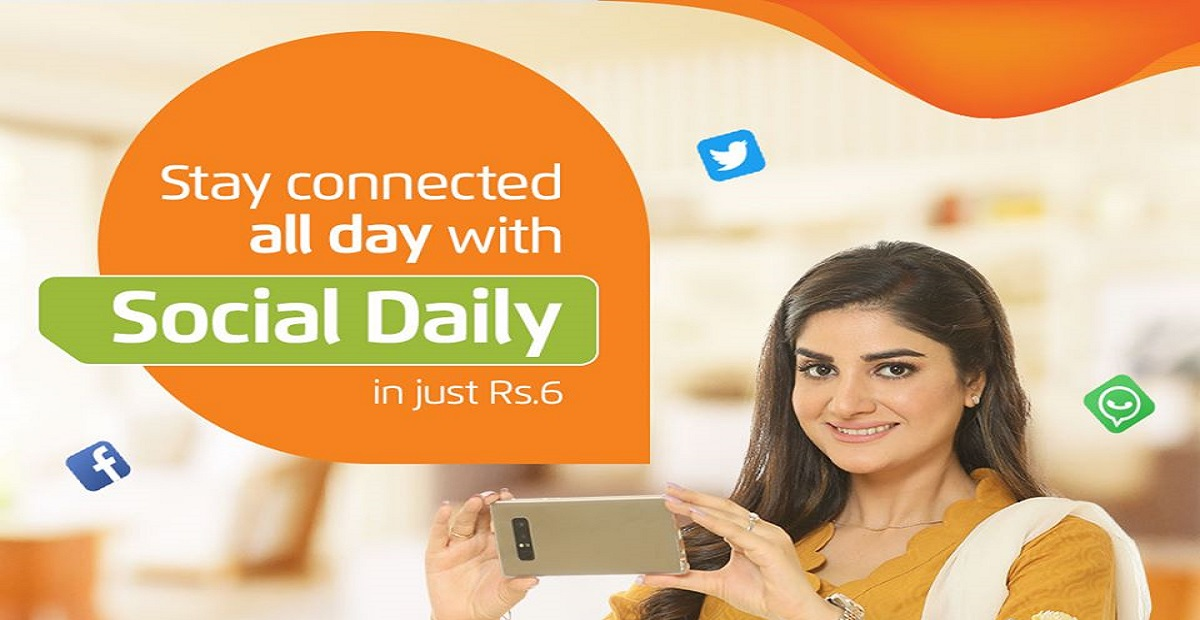 Ufone Social Daily Offer Let you Socialize in Just Rs. 6