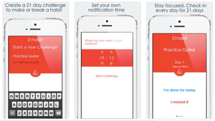 21 habits app